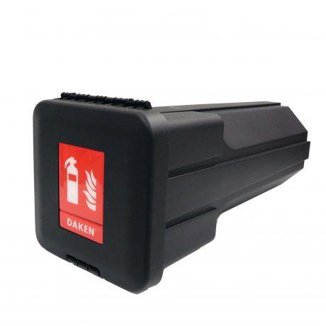 CASD1215 6-12 kg Daken Sliden Sammutinlaatikko raskaille ajoneuvoille